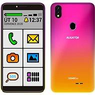 Aligator S5540 SENIOR gradientný ružový - Mobilný telefón