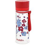 ALADDIN AVEO fľaša na vodu 350ml červená s potlačou