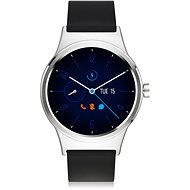 TCL MOVETIME Smartwatch TPU Silver / Black - Smart hodinky