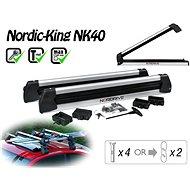 Nordrive Nordic King Evo nosič 4 páry lyží/2 snowboardy - Nosič lyží