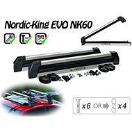 Nordrive Nordic King Evo nosič 6 párov lyží/4 snowboardy - Nosič lyží