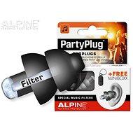 ALPINE PartyPlug Black - Štuple do uší
