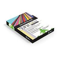 Kancelársky papier Alza Color A4 MIX recyklovaný 10× 20 listov