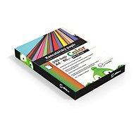 Kancelársky papier Alza Color A4 MIX TOP 10× 25 listov