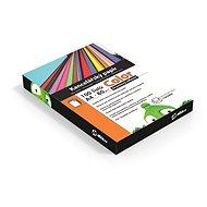 Alza Color A4 oranžový reflexný - Kancelársky papier