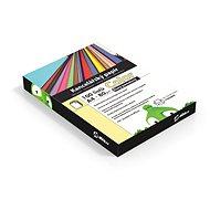 Alza Color A4 žltý pastelový - Kancelársky papier