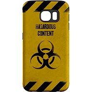 """MojePouzdro """"Na vlastné riziko"""" + ochranné sklo pre Samsung Galaxy S6 - Ochranný kryt by Alza"""