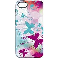 """MojePuzdro """"Biely motýľ"""" + ochranné sklo na iPhone 5s/SE - Ochranný kryt by Alza"""