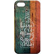 """MojePuzdro """"Dobrý nápad"""" + ochranné sklo na iPhone 5s/SE - Ochranný kryt by Alza"""