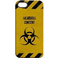 """MojePuzdro """"Na vlastné riziko"""" + ochranné sklo na iPhone 5s/SE - Ochranný kryt by Alza"""