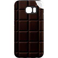 """MojePuzdro """"Čokoláda"""" + ochranná fólia na Samsung Galaxy S6 Edge - Ochranný kryt by Alza"""