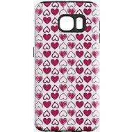 """MojePuzdro """"Srdiečka"""" + ochranná fólia na Samsung Galaxy S7 Edge - Ochranný kryt by Alza"""