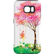 """MojePuzdro """"Strom šťastia"""" + ochranné sklo na Samsung Galaxy S6 - Ochranný kryt by Alza"""