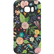 """MojePuzdro """"Nočná záhrada"""" + ochranné sklo pre Samsung Galaxy S7 - Ochranný kryt by Alza"""
