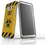 """MojePuzdro """"Na vlastné riziko"""" + ochranné sklo pre Samsung Galaxy S8 - Ochranný kryt by Alza"""