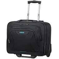 "American Tourister AT WORK ROLLING TOTE 15.6"" Black - Taška na notebook"