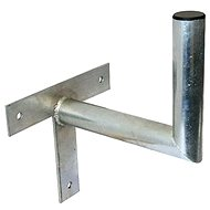 Three-point galvanized bracket, 250/120/28, 25 cm from the wall - Console