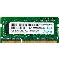 Apacer SO-DIMM 4GB DDR3 1600 MHz CL11 - Operačná pamäť
