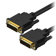 AlzaPower DVI-D na DVI-D Dual Link prepojovací 3 m - Video kábel