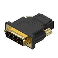 AlzaPower DVI-D (24 + 1) (M) na HDMI (F) - Adaptér