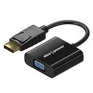 AlzaPower DisplayPort (M) na VGA (F) 0,1 m - Redukcia