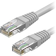 AlzaPower Patch CAT6 UTP 5 m sivý - Sieťový kábel