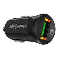 AlzaPower Car Charger X310 Quick Charge 3.0 čierna - Nabíjačka do auta