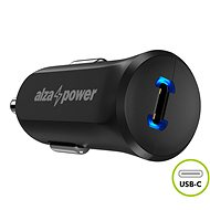 AlzaPower Car Charger P310 Power Delivery Čierna - Nabíjačka do auta