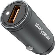 AlzaPower Car Charger X510 Fast Charge sivá - Nabíjačka do auta