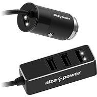 AlzaPower Car Charger X540 Multi Charge čierna - Nabíjačka do auta