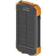 Powerbank AlzaPower SolarScout 10 000 mAh oranžová