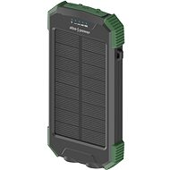 AlzaPower SolarScout 10000mAh Green - Powerbank