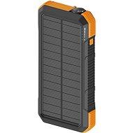Powerbank AlzaPower SolarScout 20 000 mAh oranžová