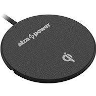 AlzaPower WC120 Wireless Fast Charger čierna