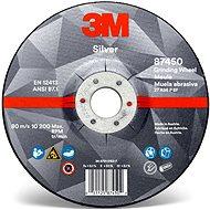 3M Silver Depressed Center Grinding Wheel, T27, 115 mm × 7 mm × 22,23 mm