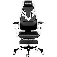 ANTARES Genidia Gaming biela - Herná stolička