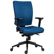 ANTARES 1580 Syn Gala Plus SL BN3 modrá + podrúčky AR08 - Kancelárska stolička