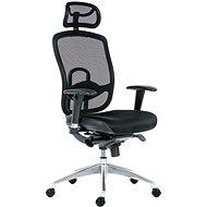 Kancelárska stolička ANTARES OKLAHOMA PDH čierna - Kancelářská židle