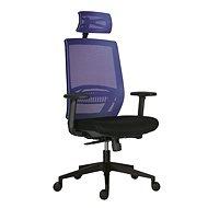 ANTARES ABOVE modrá - Kancelárska stolička
