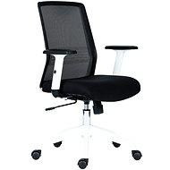 ANTARES Novello bielo-čierna - Kancelárska stolička