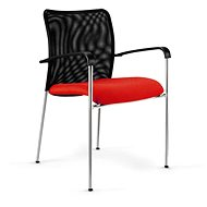 ANTARES Spider červená - Konferenčná stolička