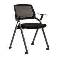 ANTARES Zen čierna - Konferenčná stolička