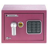 YALE Safe mini YSV/170/DB1/P ružový - Trezor