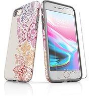 Skinzone vlastný štýl Tough pre iPhone 8 SLVS0023 Tradičný