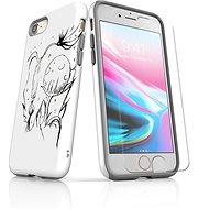 Skinzone vlastný štýl Tough pre iPhone 8 SLVS0029 Ako život rastie