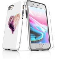 Skinzone vlastný štýl Tough pre iPhone 8 SLVS0030 One Love - Ochranný kryt by Alza