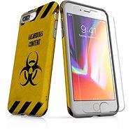 Skinzone vlastný štýl Tough pre iPhone 8 Plus SLVS0009 Na vlastné riziko