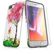 Skinzone vlastný štýl Tough pre iPhone 8 Plus SLVS0028 Strom šťastia - Ochranný kryt by Alza