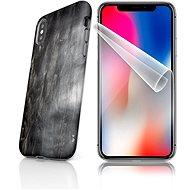 Skinzone vlastný štýl Tough pre iPhone X SLVS0031 Plášť hviezdy smrti