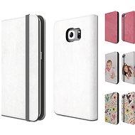 Skinzone vlastný štýl Folio pre Samsung Galaxy S7/S6/S6 edge - Ochranný kryt Vlastný štýl